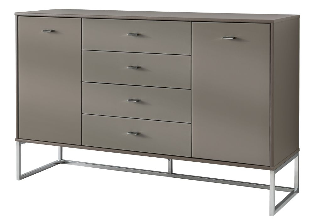 Wiemann Vigo 4 Drawer Chest in Havana - W 40cm