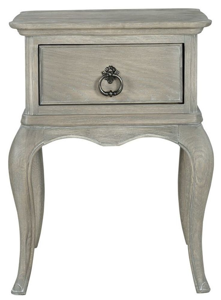 Willis and Gambier Camille Oak 1 Drawer Bedside Table