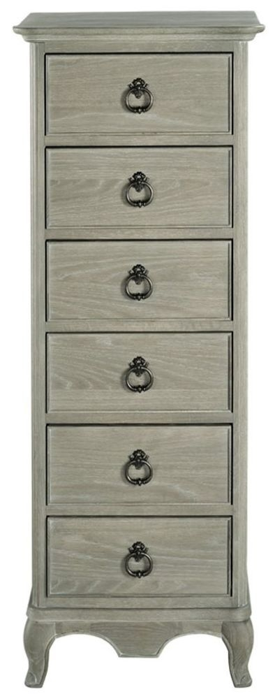 Willis and Gambier Camille Oak 6 Drawer Tallboy