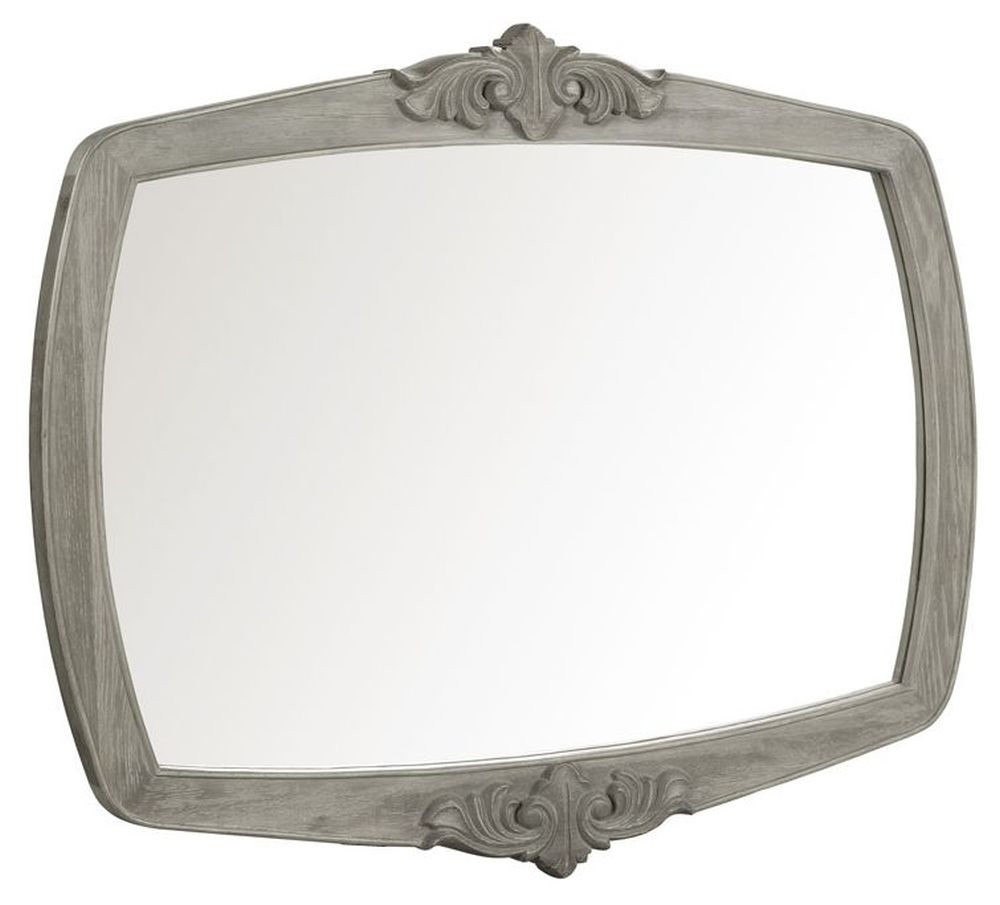 Willis and Gambier Camille Oak Rectangular Wall Mirror