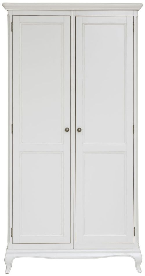 Willis and Gambier Chantilly Painted 2 Door Double Ladies Wardrobe