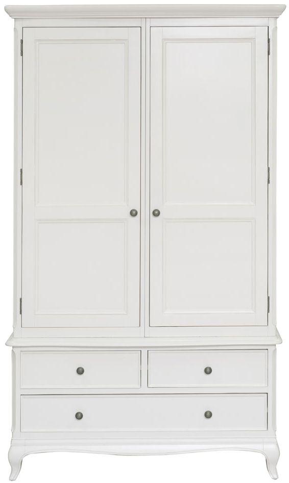Willis and Gambier Chantilly 2 Door 3 Drawer Double Wardrobe