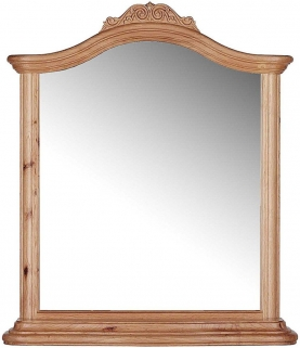 Willis and Gambier Charlotte Oak Mirror - Arch
