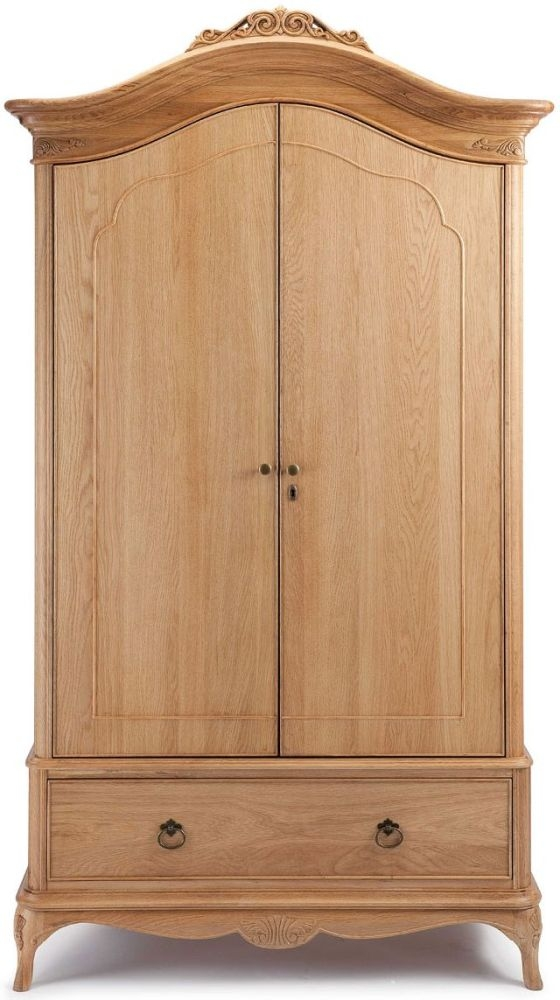Willis and Gambier Charlotte Oak Double Wardrobe