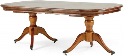 Clearance Willis and Gambier Lille 8-10 Twin Pedestal Dining Table