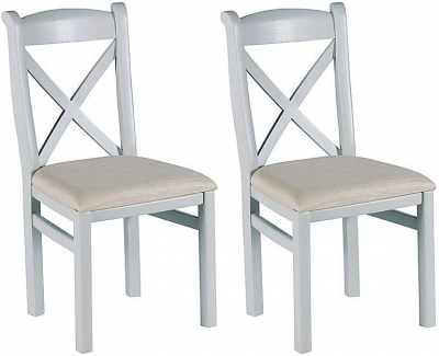 Clearance Willis and Gambier Malvern Slate Grey Dining Chair (Pair) - W32