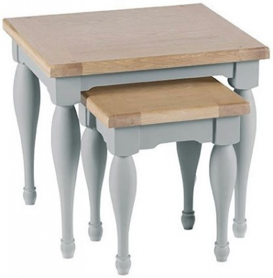 Clearance Willis and Gambier Malvern Slate Grey Nest of Tables