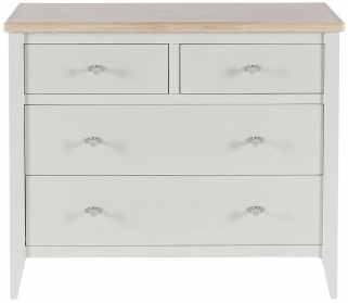 Willis and Gambier Coast Painted 2+2 Chest of Drawer