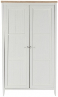 Willis and Gambier Coast Painted 2 Door Wardrobe
