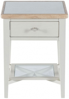 Willis and Gambier Coast Painted Bedside Table