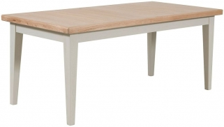 Willis and Gambier Coast Painted Extending Dining Table