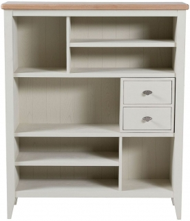Willis and Gambier Coast Painted Short Bookcase