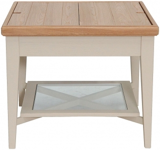 Superior Willis And Gambier Coast EOL Painted Storage Coffee Table