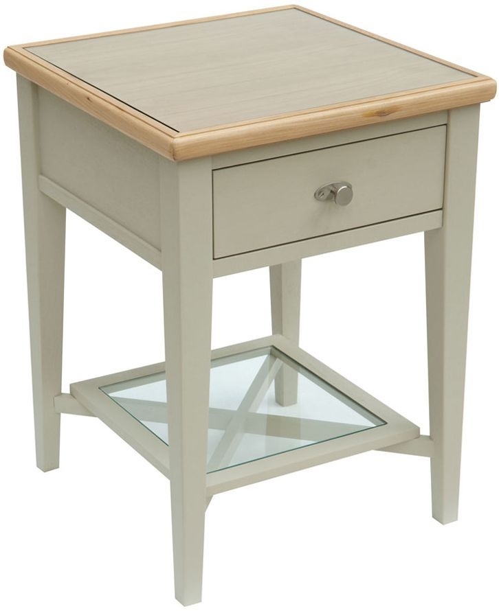 Willis and Gambier Coast Painted Lamp Table