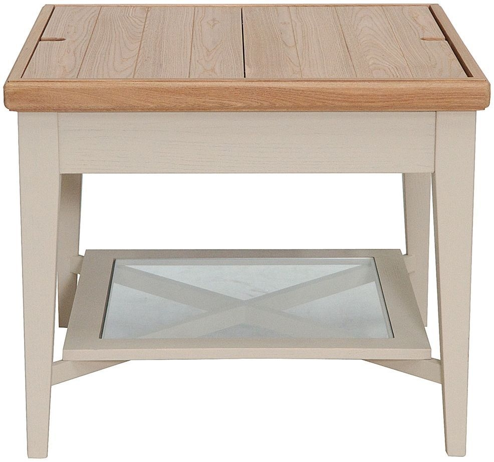 Willis and Gambier Coast Painted Storage Coffee Table