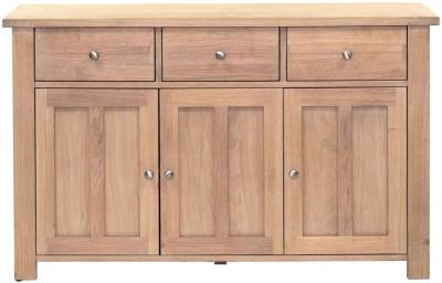 Willis and Gambier Cotswold Oak 3 Door 3 Drawer Medium Sideboard