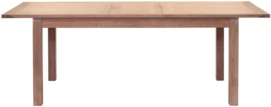 Willis and Gambier Cotswold Oak Rectangular Large Extending Dining Table - 175cm-220cm
