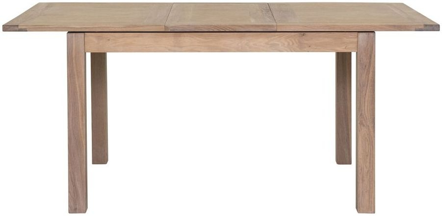 Willis and Gambier Cotswold Oak Rectangular Small Extending Dining Table - 130cm-175cm