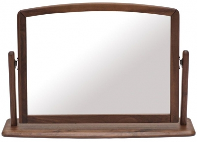 Willis and Gambier Elegance Black Walnut Bedroom Mirror