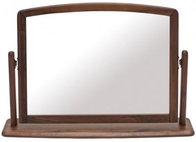Willis and Gambier Elegance Black Walnut Bedroom Mirror