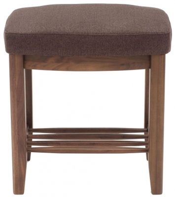 Willis and Gambier Elegance Black Walnut Stool