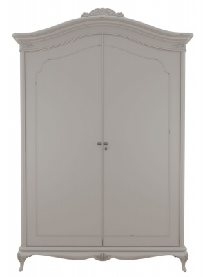 Willis and Gambier Etienne Grey 2 Door Double Wardrobe
