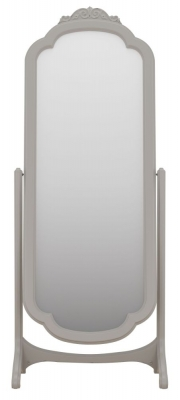 Willis and Gambier Etienne Grey Arch Cheval Mirror