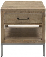 Willis and Gambier Forte Pine 1 Drawer Side Table