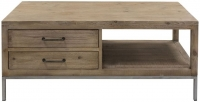Willis and Gambier Forte Pine 2 Drawer Storage Coffee Table