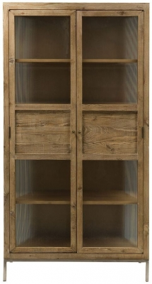 Willis and Gambier Forte Pine 2 Door Display Cabinet & Pine Display Cabinets | Pine Display Units | Pine Corner Display