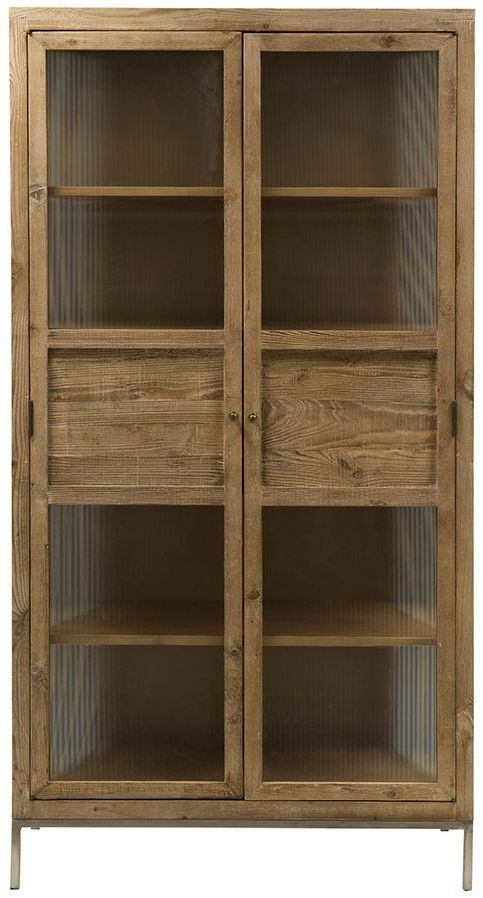 Willis and Gambier Forte Pine 2 Door Display Cabinet