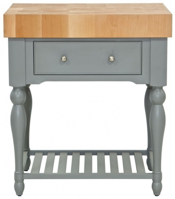 Willis and Gambier Genoa Painted Butchers Block