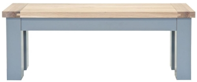 Willis and Gambier Genoa Painted Dining Bench - Long