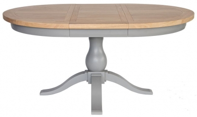 Willis and Gambier Genoa Painted Dining Table - Round Extending