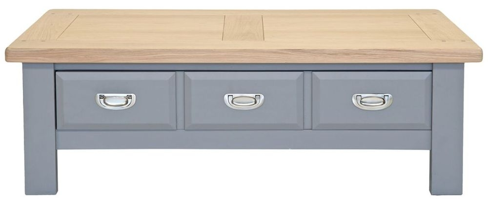 Willis and Gambier Genoa Painted 3 Drawer Storage Coffee Table