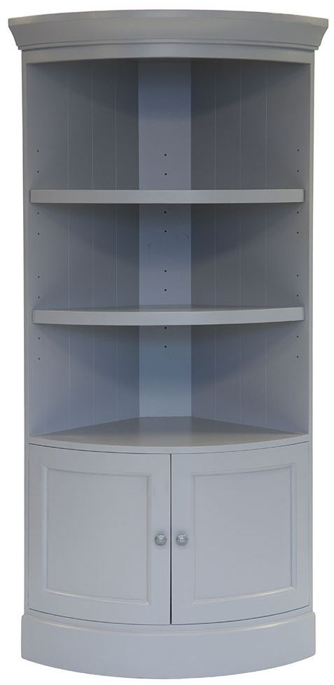Willis and Gambier Genoa Painted Corner Cupboard