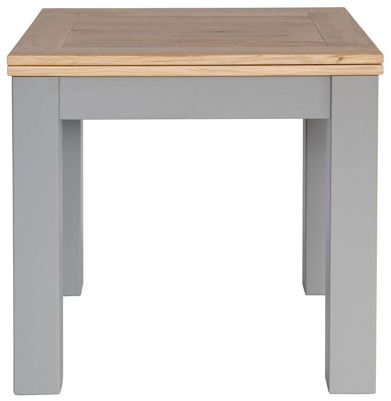 Willis and Gambier Genoa Painted Square Flip Top Dining Table - 80cm-160cm