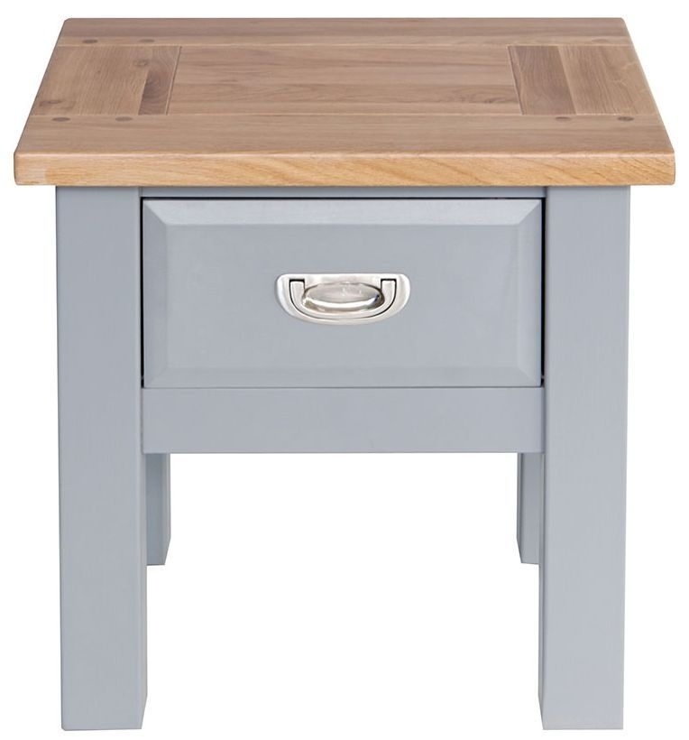 Willis and Gambier Genoa Painted 1 Drawer Lamp Table