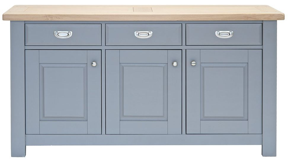 Willis and Gambier Genoa Painted 3 Door Wide Sideboard