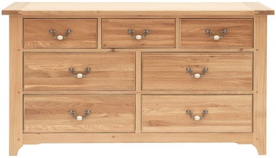Willis and Gambier Gloucester Oak 7 Chest of Drawer