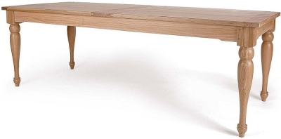 Willis and Gambier Gloucester Oak Large Extending Dining Table