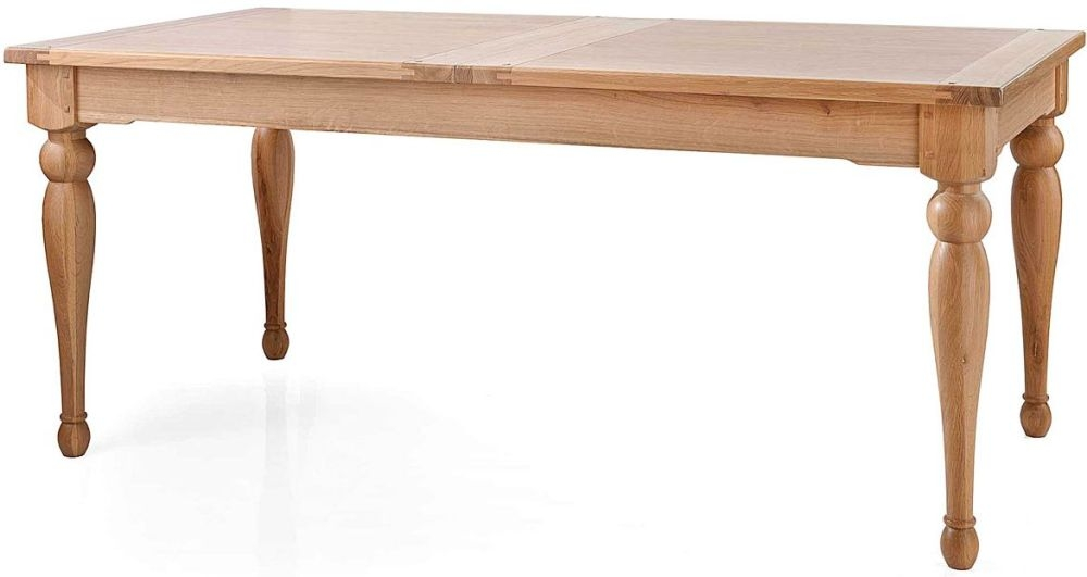 Willis and Gambier Gloucester Oak Medium Extending Dining Table