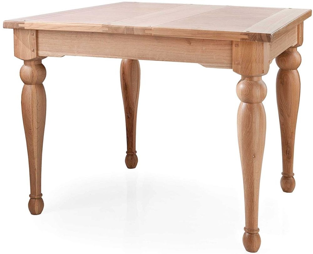 Willis and Gambier Gloucester Oak Small Extending Dining Table