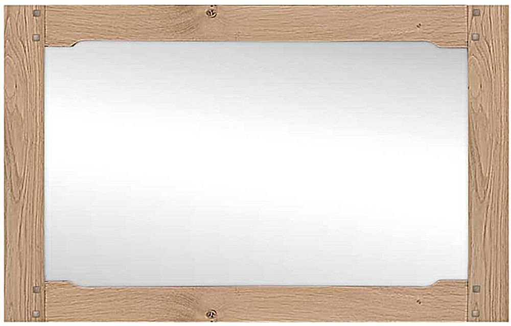Willis and Gambier Gloucester Oak Wall Mirror