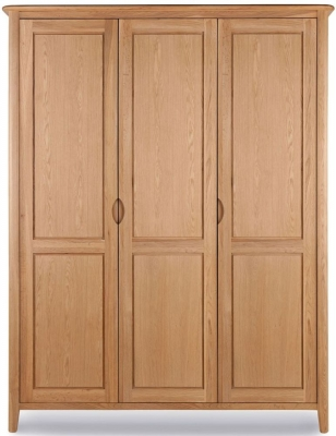 Willis and Gambier Grace Oak Triple Wardrobe
