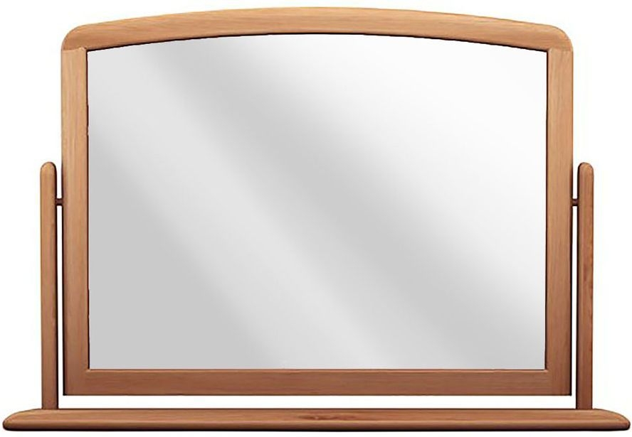 Willis and Gambier Grace Oak Rectangular Gallery Mirror