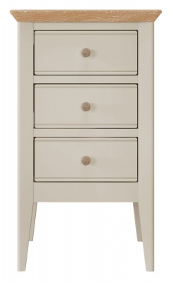 Willis and Gambier Hancock Grey Bedside Cabinet