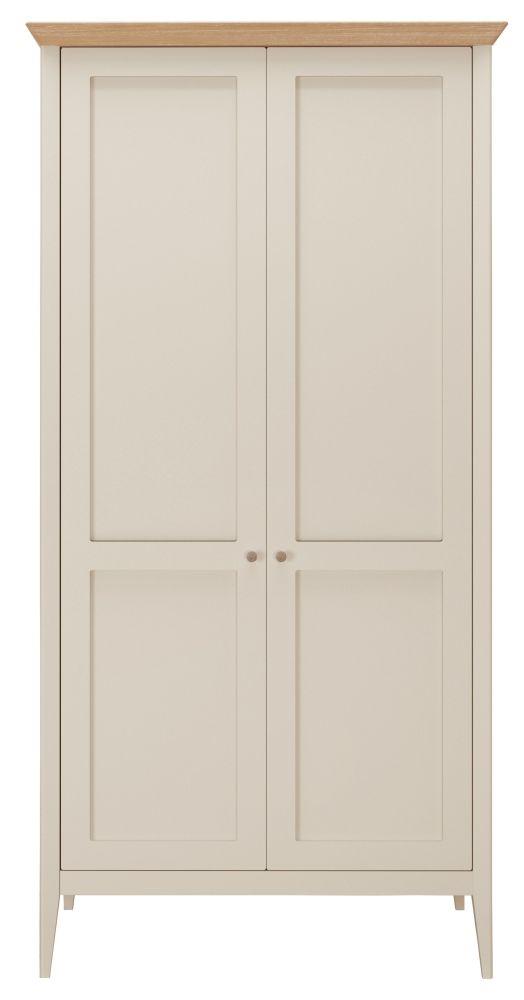Willis and Gambier Hancock Grey 2 Door Double Wardrobe