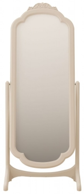 Willis and Gambier Ivory Arch Cheval Mirror