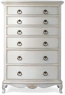 Willis and Gambier Ivory Chest of Drawer - 6 Drawer